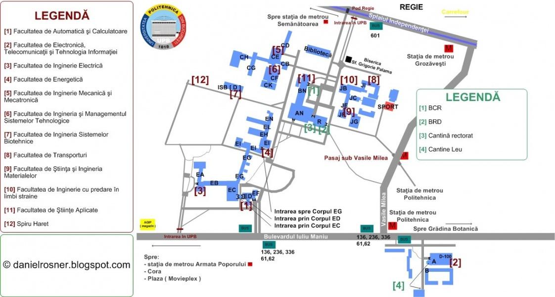 Harta Facultatea Automatica Wiki Lug Ro
